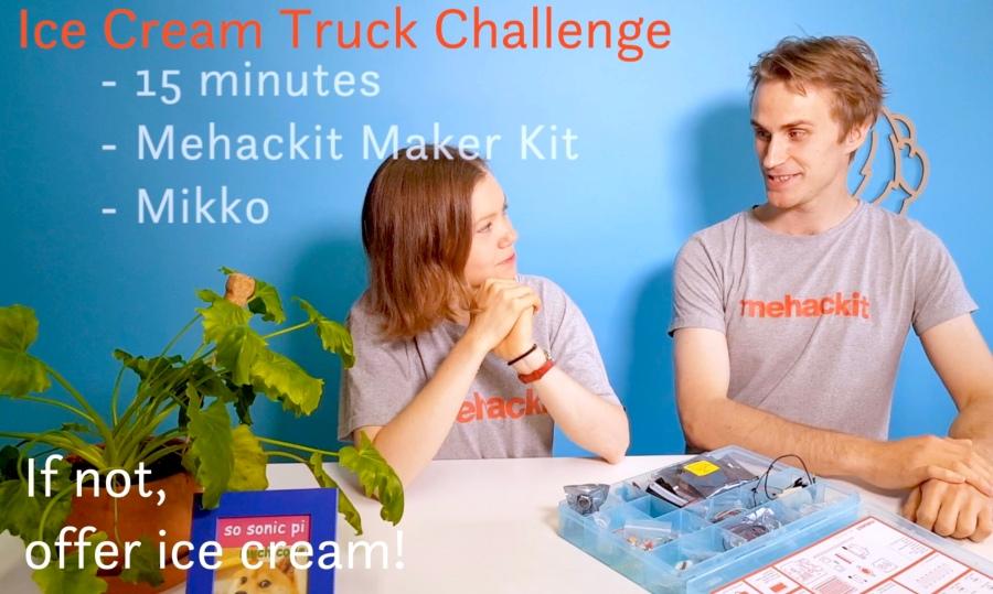 Ice Cream TruckChallenge!